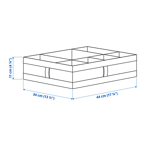 SKUBB dėžė su skyriais