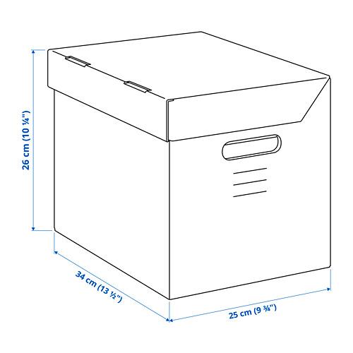 PAPPIS kaste ar vāku