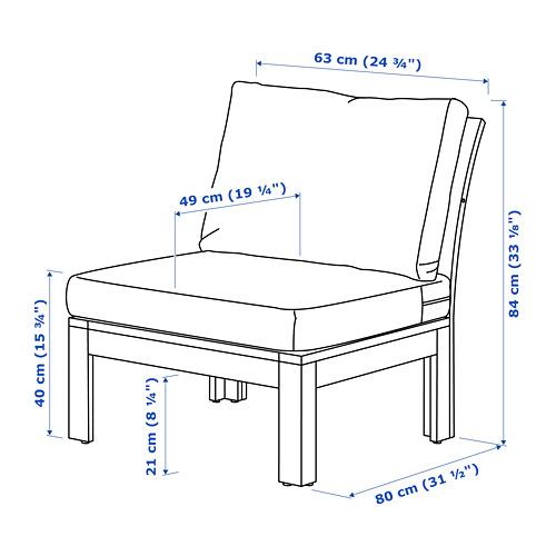 ÄPPLARÖ āra krēsls