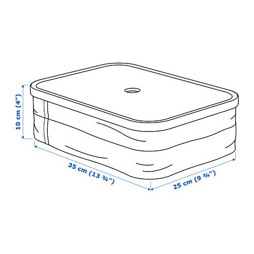 RABBLA kaste ar nodalījumiem