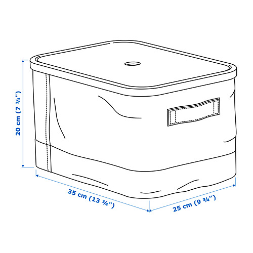 RABBLA kaste ar vāku