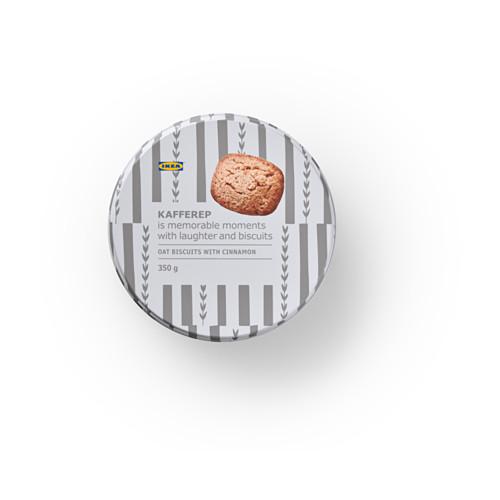 KAFFEREP avižiniai sausainiai su cinamonu
