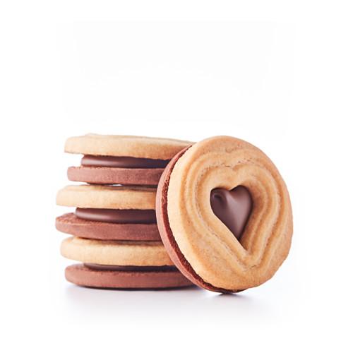 KAFFEREP sausainiai su šokoladiniu įdaru