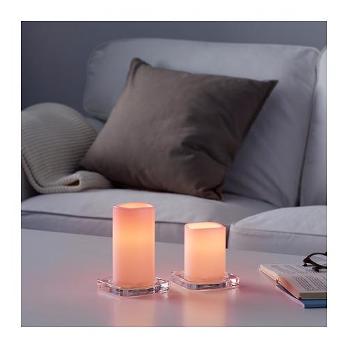 GODAFTON LED svece, iekš/āra, 2 gab.