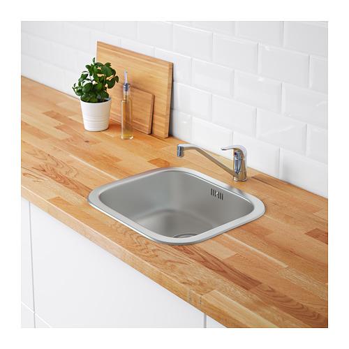 FYNDIG inset sink, 1 bowl