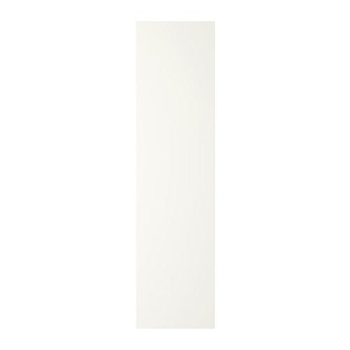FORSAND eņģu durvis, 50x195 cm, balts