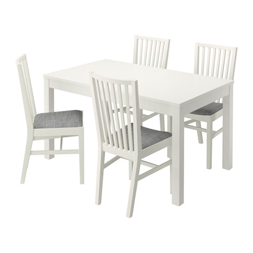 BJURSTA/NORRNÄS table and 4 chairs