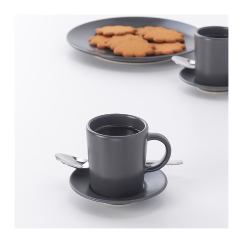 DINERA espresso cup and saucer