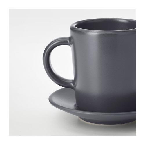 DINERA Espreso kavos puodelis su lėkštute