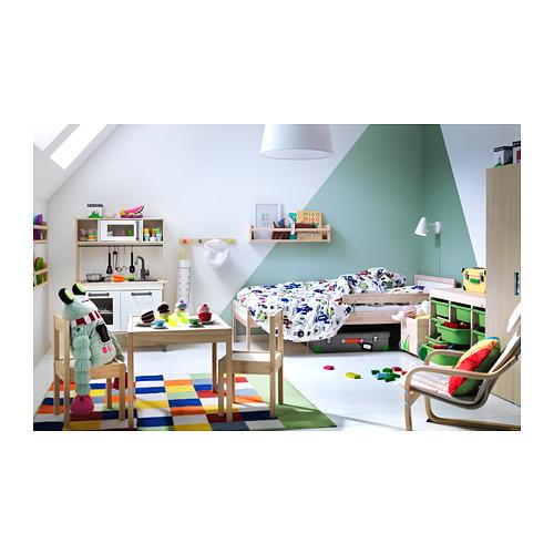 SNIGLAR gultas rāmis ar redelēm
