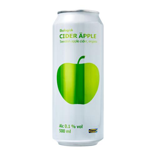 CIDER ÄPPLE obuolių sidras 0,1 %