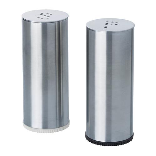 PLATS salt/pepper shaker, set of 2