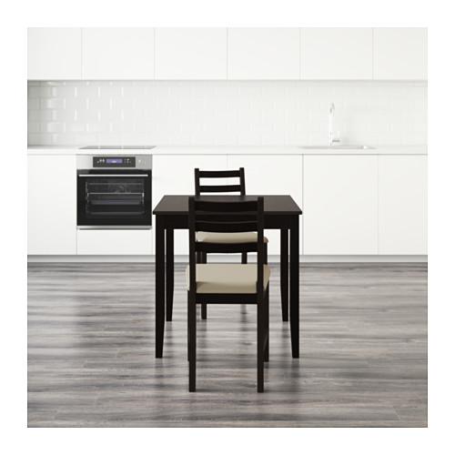 LERHAMN stalas ir 2 kėdės