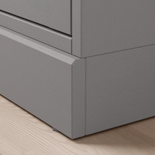 HAVSTA комбинация для хранения с сткл двр