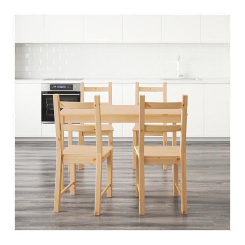 INGO/IVAR stalas ir 4 kėdės