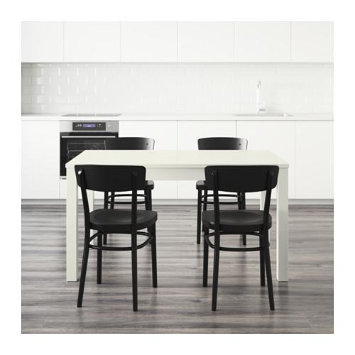 IDOLF/BJURSTA stalas ir 4 kėdės
