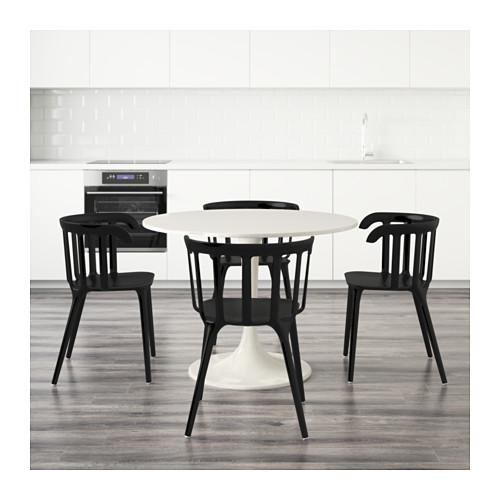 DOCKSTA/IKEA PS 2012 stalas ir 4 kėdės