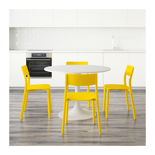 DOCKSTA/JANINGE table and 4 chairs