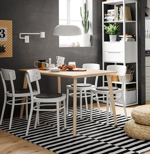 IDOLF/LISABO stalas ir 4 kėdės