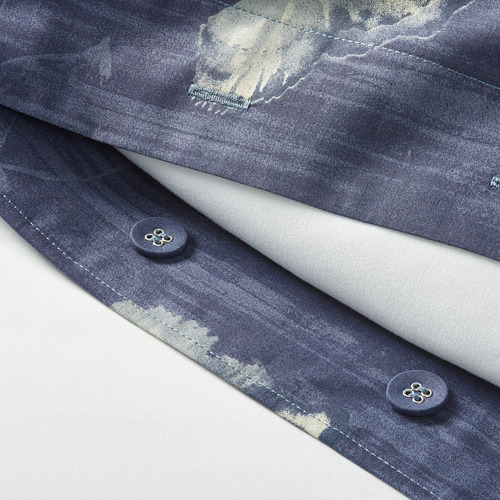 BERGKÅREL segas pārvalks un 2 spilvendrānas