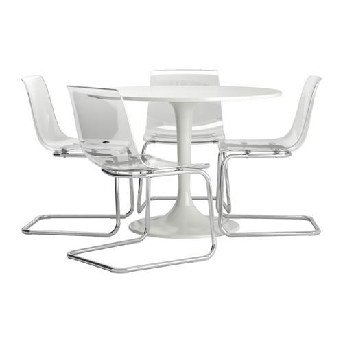 DOCKSTA/TOBIAS stalas ir 4 kėdės