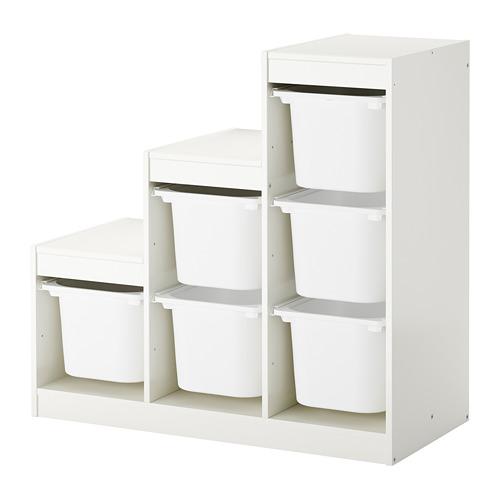 TROFAST комбинация д/хранения+контейнеры
