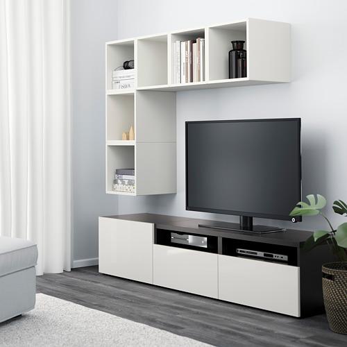 EKET/BESTÅ spintelių derinys televizoriui