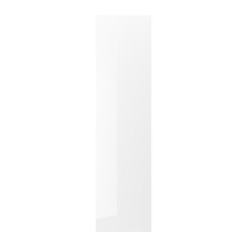 FÖRBÄTTRA nosegplāksne, 61.5x240 cm, spīdīgs baltā krāsā