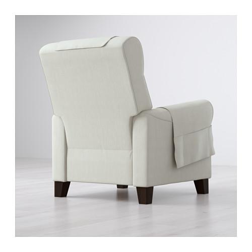 MUREN fotelis su kojų atrama
