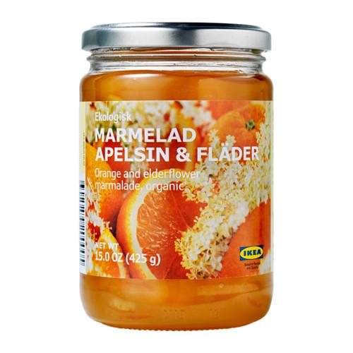 MARMELAD APELSIN & FLÄDER apelsinų-šeivamedžių žiedų džemas