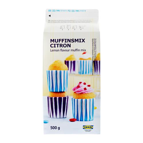 MUFFINSMIX CITRON citrininių keksiukų mišinys