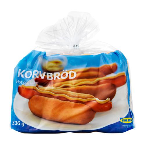 KORVBRÖD saldētas hotdogu maizītes