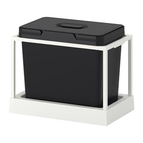 VARIERA/UTRUSTA waste sorting for cabinet