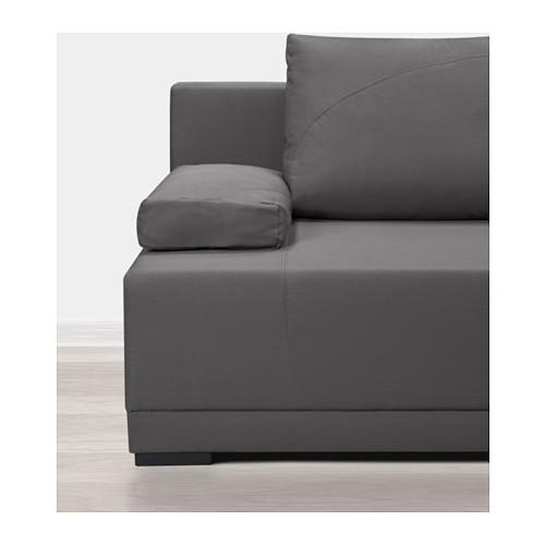 ARVIKEN trivietė sofa-lova
