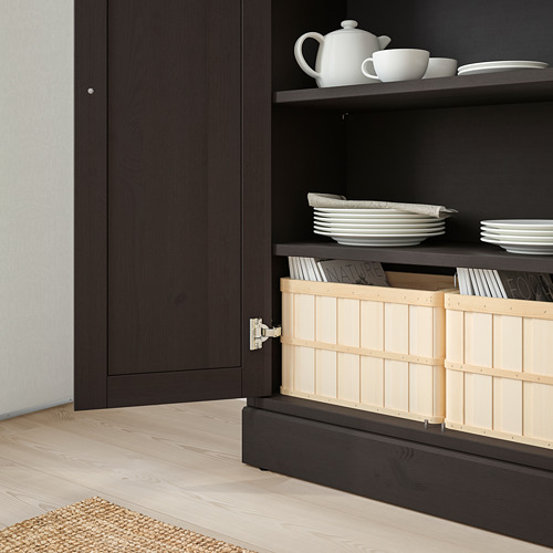 HAVSTA cabinet with plinth
