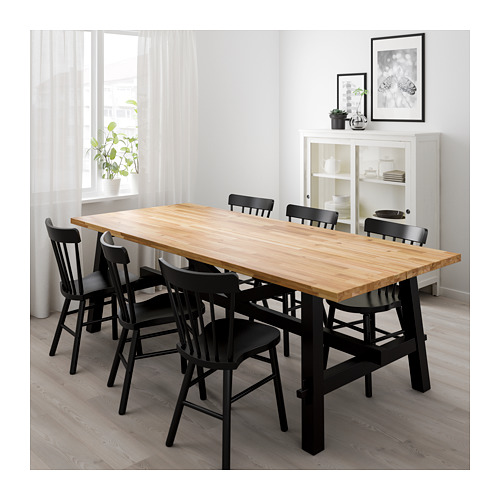 NORRARYD/SKOGSTA table and 6 chairs