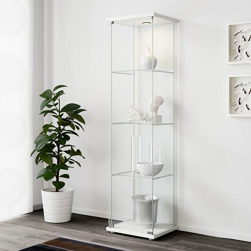 DETOLF glass-door cabinet