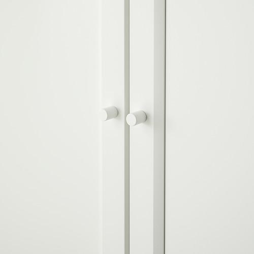 BILLY/OXBERG knygų spinta su durimis