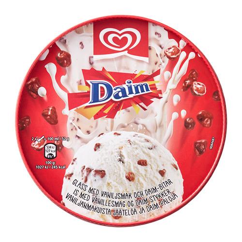 """DAIM vanil. ledai su """"Daim"""" gabaliukais"""