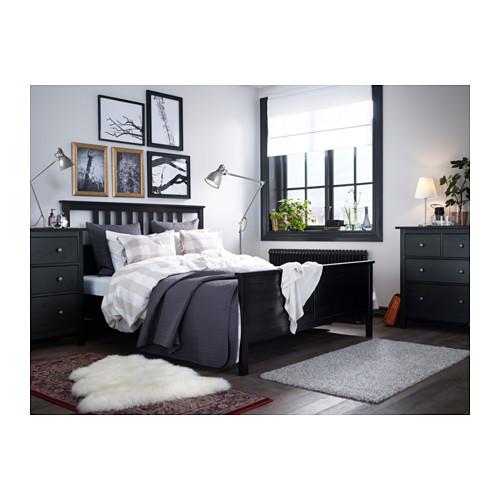 HEMNES lovos rėmas