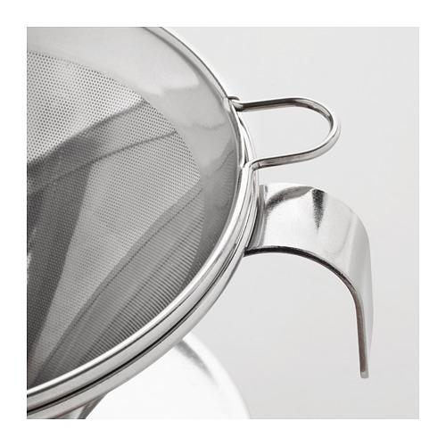 ÖVERST 3-piece metal filter coffee set