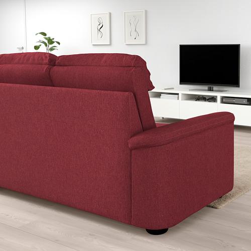 LIDHULT Divvietīgs guļamdīvāns