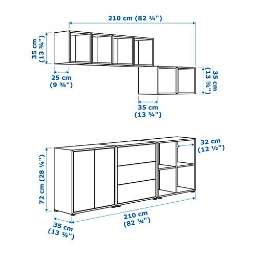 EKET комбинация шкафов с ножками