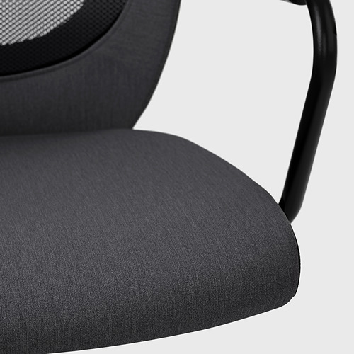 FLINTAN/NOMINELL office chair with armrests