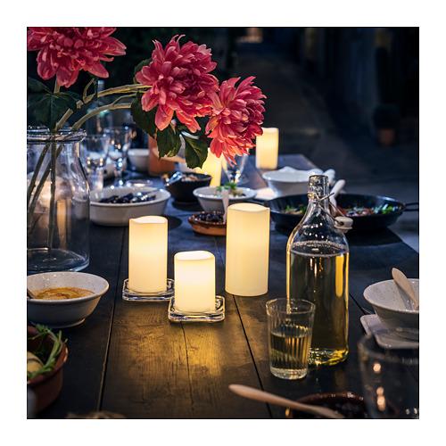 GODAFTON 3 LED žvakės, vidaus ir lauko
