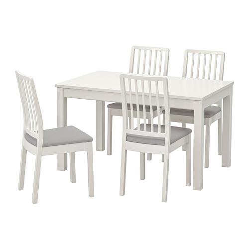 EKEDALEN/LANEBERG stalas ir 4 kėdės