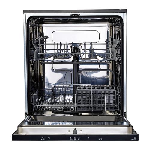 LAGAN iebūvējama trauku mazgājamā mašīna, 59.6x55x81.8 cm