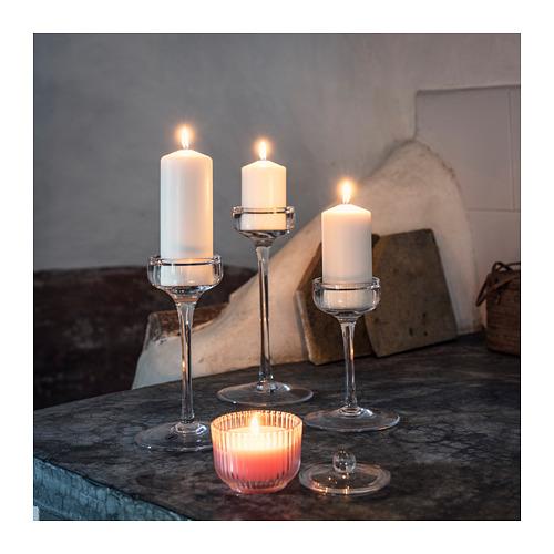 BLOMDOFT kvapioji žvakė stikl. indelyje