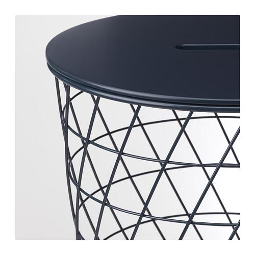 KVISTBRO galdiņš ar mantu glabātavu