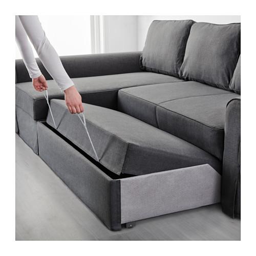 BACKABRO sofa-lova su gulimuoju krėslu